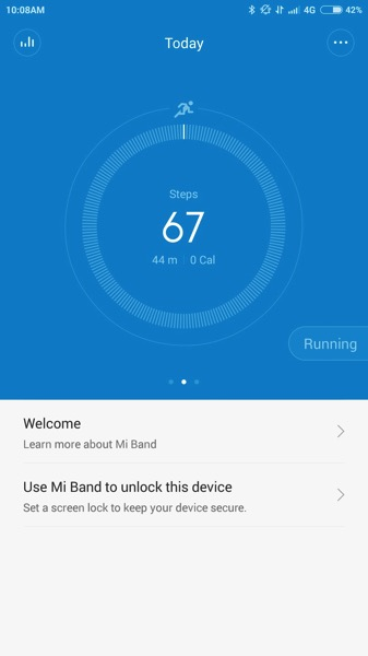 Mi Band Pulse (小米手环光感版) - workout - Heart Rate by Mi Band Pulse