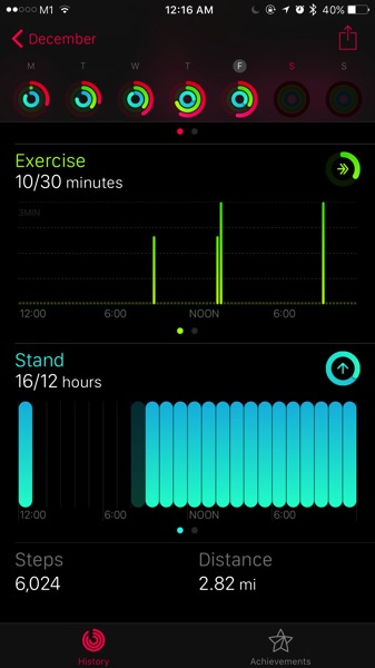 Mi Band Pulse (小米手环光感版) - workout - stats compared with Apple Watch