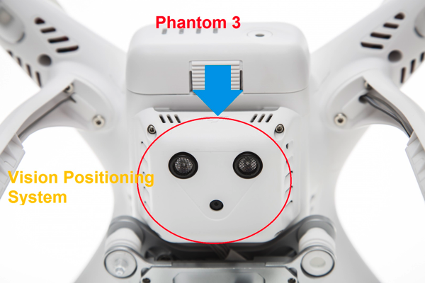 Phantom 3 Advanced - Vision Positioning System