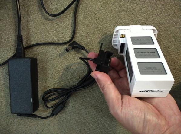 Phantom 3 Advanced - charging battery