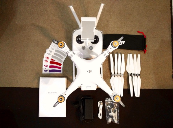 Phantom 3 Advanced - unboxed full accessories