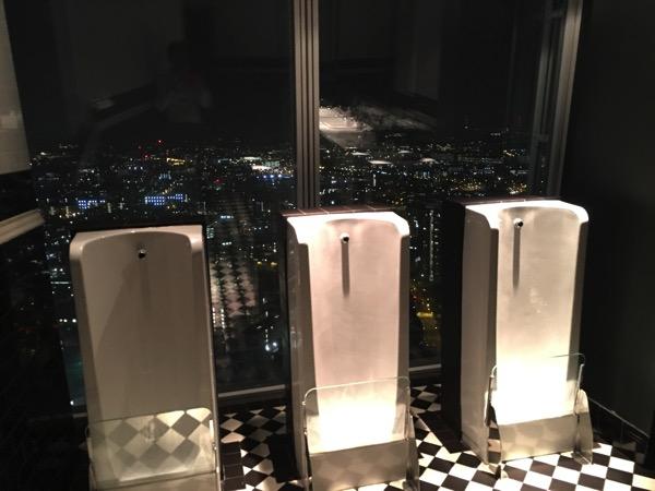 Aquashard - inside toilet