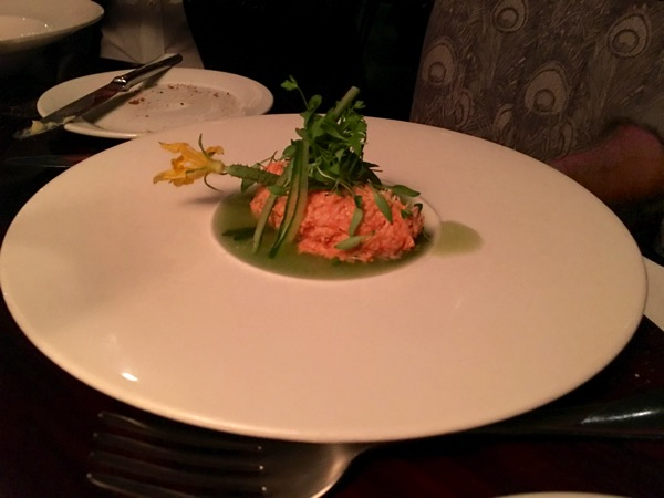 Auqashard - food review - Loch Etive smoked trout