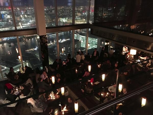 Auqashard - restaurant view - top down
