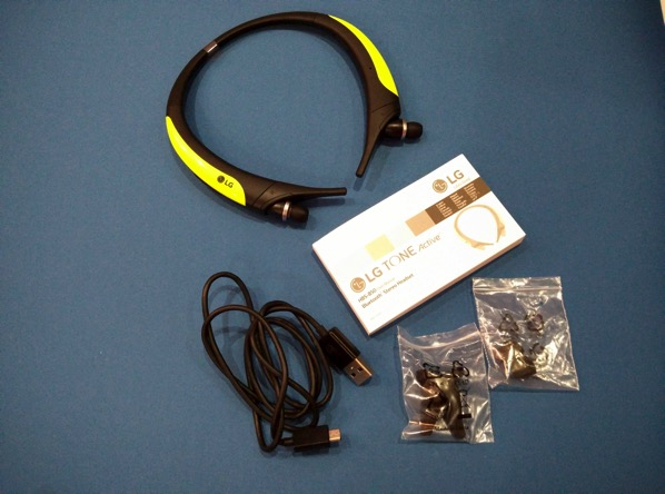 G TONE Active Premium Wireless Stereo Headset HBS-850 Lime - retail packaging (unboxed)