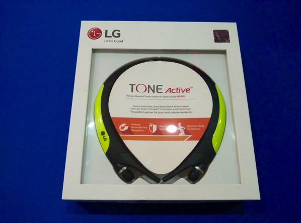 G TONE Active Premium Wireless Stereo Headset HBS-850 Lime - retail packaging