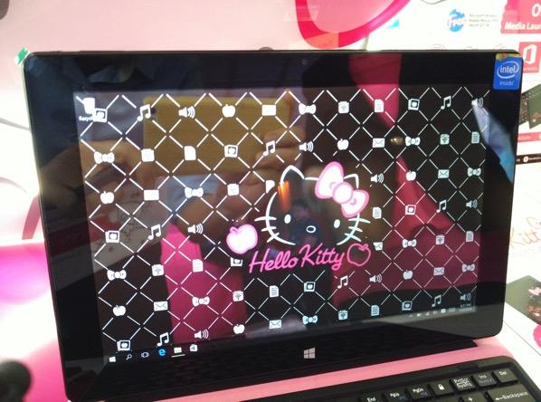 Grace 10 Light Hello Kitty Tablet PC - desktop mode