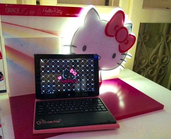 Grace 10 Light Hello Kitty Tablet PC - final looks