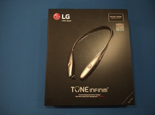 LG TONE INFINIM Wireless Stereo Headset HBS-900 Black - retail packaging