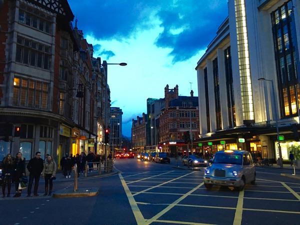 Mayfair in Central London