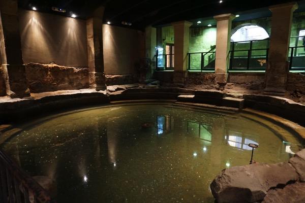 Roman Bath - inside pool