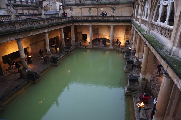 Roman Bath - view from top