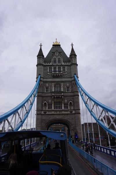 Tower Bridge - crossing the bridge