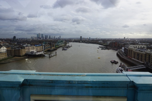 Tower Bridge - view of the River Thames