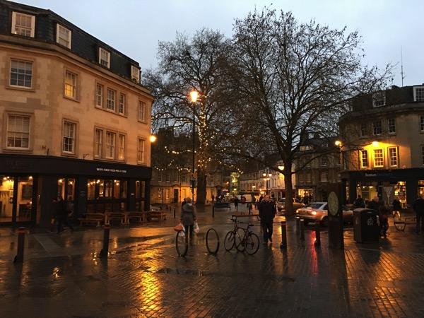 Walk around town of Bath