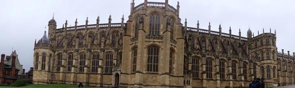 Windsor Castle - St George's Chapel - full view
