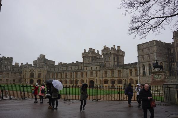 Windsor Castle - entrance