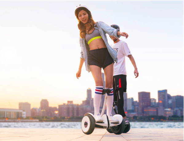 Xiaomi Ninebot (九号平衡车) - ride pose