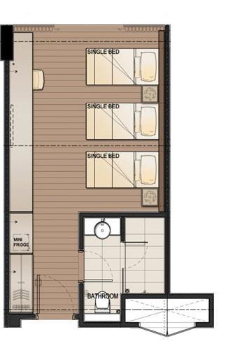 DResort Rainforest room layout
