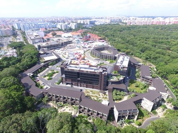 D'Resort - around the resort - aerial view