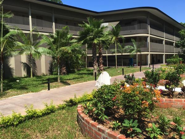 D'Resort - around the resort - inside garden