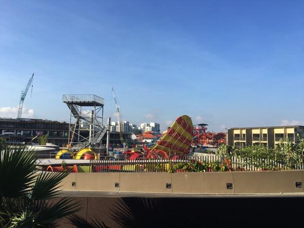 D'Resort - around the resort - theme park retail construction