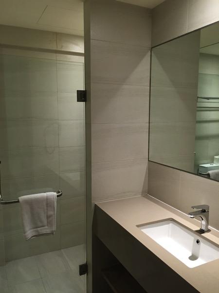 D'Resort - inside Park View room - toilet area