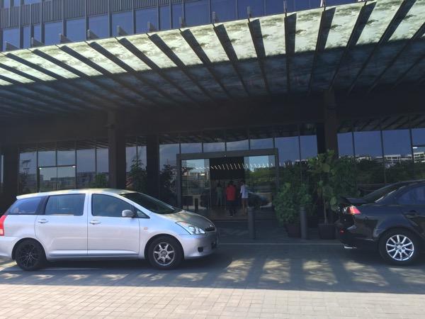 D'Resort - main entrance to reception