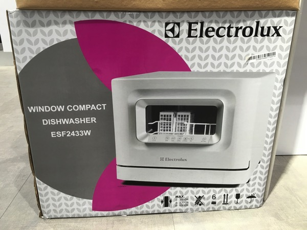 Electrolux Dishwasher ESF2433W - Retail packaging