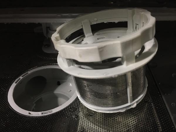 Electrolux Dishwasher ESF2433W - discharge pipe sink (unassembled)