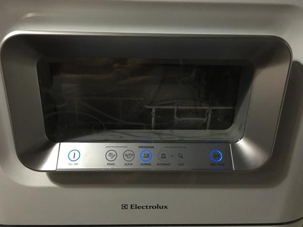 Electrolux Dishwasher ESF2433W - main console