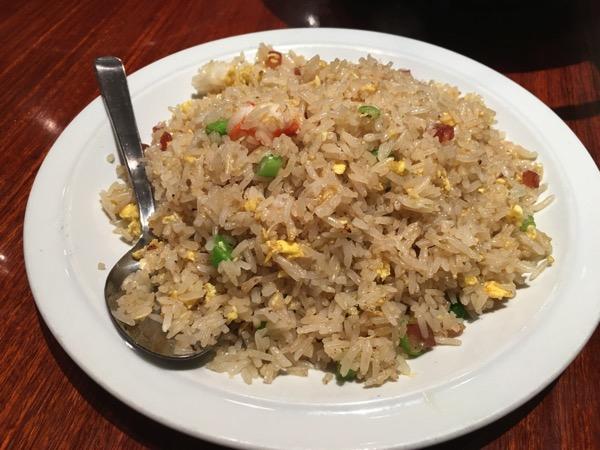 Soup Restaurant buffet - fried rice