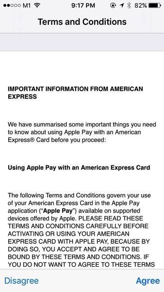 Apple Pay launched in Singapore - Add Credit Card - Step 4