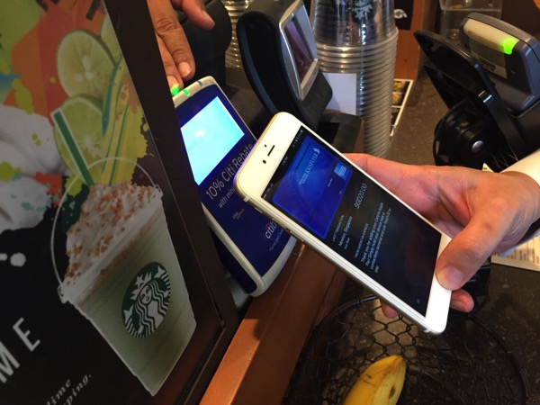 Apple Pay launched in Singapore - payment at retail store - using touchID to pay