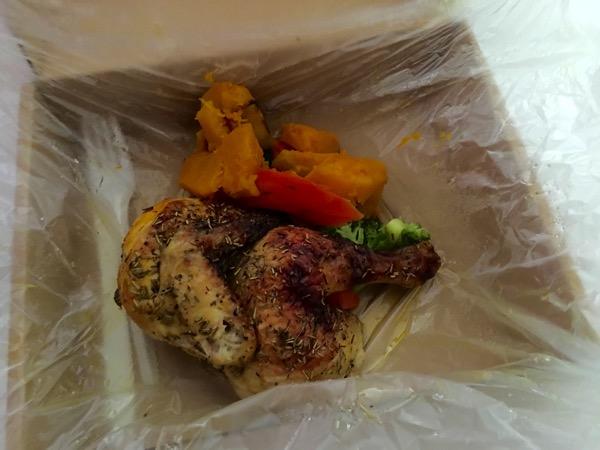 Caveman Food (Paleo) - half chicken set