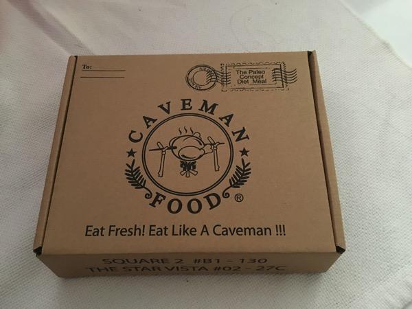 Caveman Food (Paleo) - takeaway packaging 1