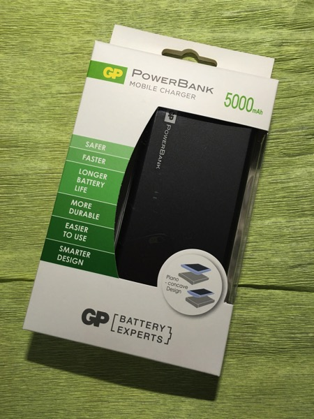 F-Series PowerBank (FP05M 5000mAh) - retail packaging