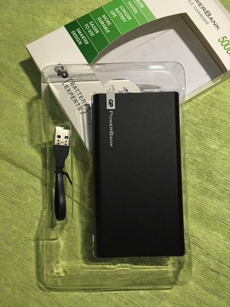 F-Series PowerBank (FP05M 5000mAh) - unboxed