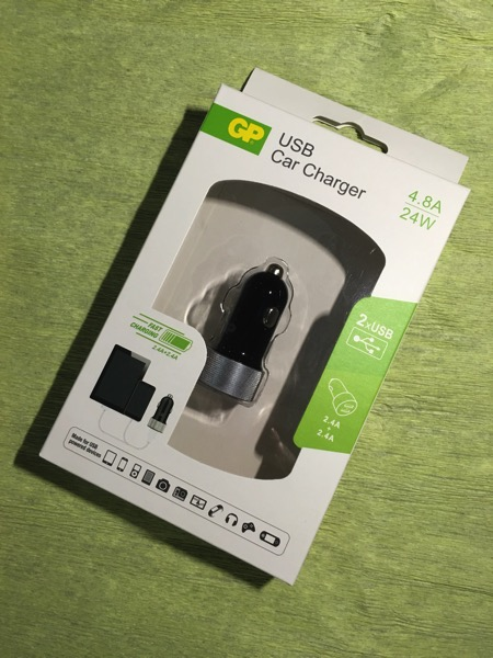GP USB Car Chargers (CC41) - retail packaging