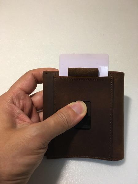 Aki Crazy Horse Leather Wallet - Ninja Slot
