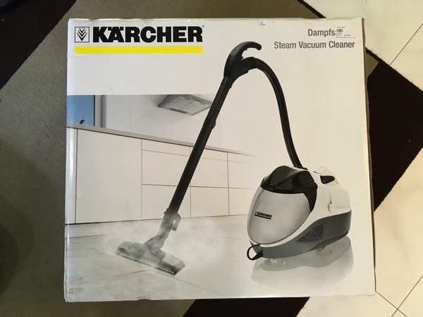 Karcher SV7 Steam Vacuum Cleaner - Retail Packaging