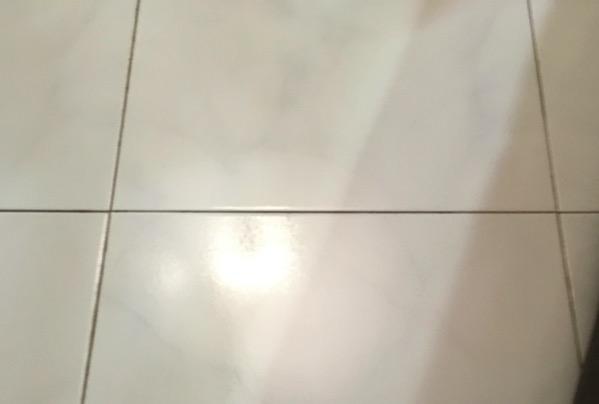 Karcher SV7 Steam Vacuum Cleaner - floor (after cleaning)