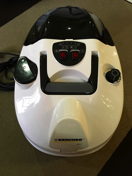 Karcher SV7 Steam Vacuum Cleaner - main body front view
