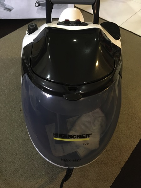Karcher SV7 Steam Vacuum Cleaner - main body tank view