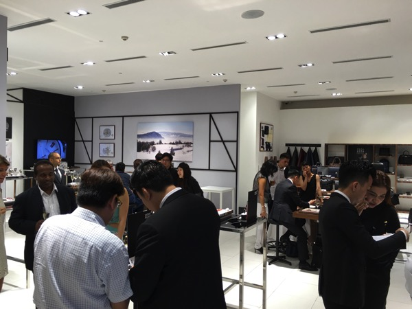 Montblanc Black and White cocktail event - main hall