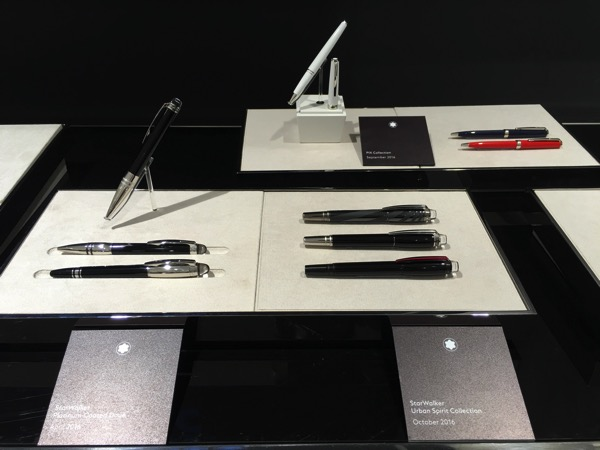 Montblanc Black and White cocktail event - pens 2
