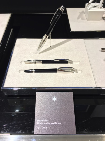 Montblanc Black and White cocktail event - pens 3