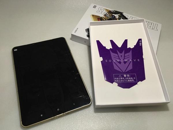 Xiaomi MiPad Transformer SoundWave - unboxing 2