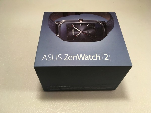 ASUS ZenWatch 2 WI501Q - Retail packaging