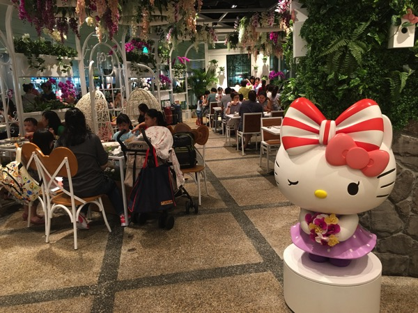 Hello Kitty Orchid Garden Singapore Cafe - figurine 1